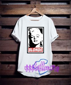 Blonde Marilyn Monroe Tee Shirts