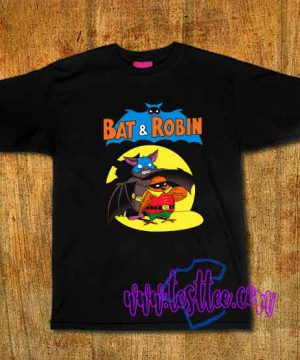 Cheap Vintage Tees Bat And Robin