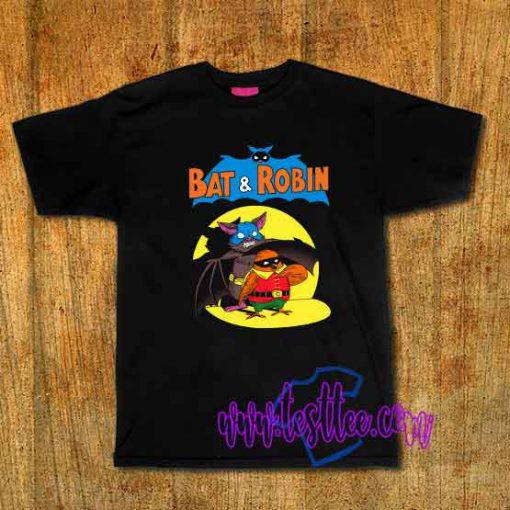 Cheap Vintage Tees Bat And Robin
