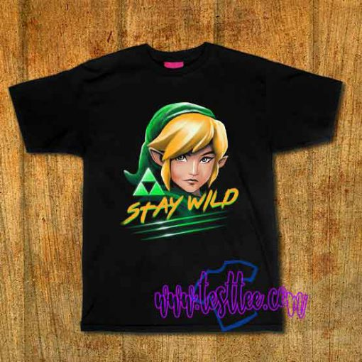 Cheap Vintage Stay Wild Tees