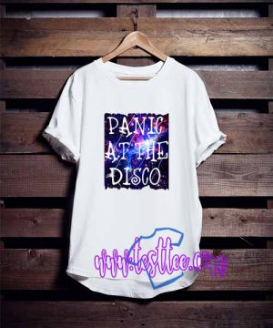 Cheap Vintage Tees Panic at The Disco Galaxy