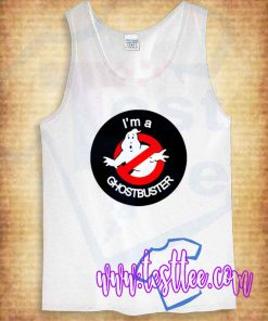 I'm a Ghostbuster Tank Top Mens Or Womens