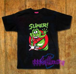 Cheap Vintage Tees Slimer Ghost