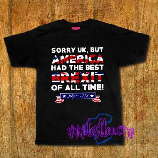 Cheap Vintage Tees America Had The Best Brexit
