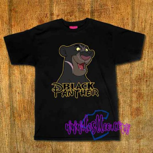 Cheap Vintage Tees Funny Black Panther