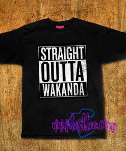 Cheap Vintage Tees Straight Outta Wakanda