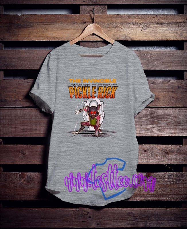 Cheap Vintage Tees The Invincible Pickle Rick