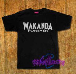 Cheap Vintage Tees Wakanda Forever