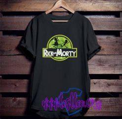 Cheap Vintage Tees Rick Morty Jurassic
