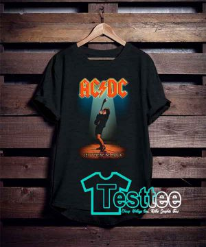ACDC Let There Be Rock Tees