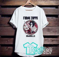 Frank Zappa Armadillo T shirt