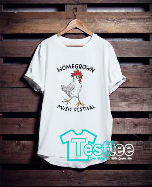Cheap Vintage Tees Homegrown Music Festival