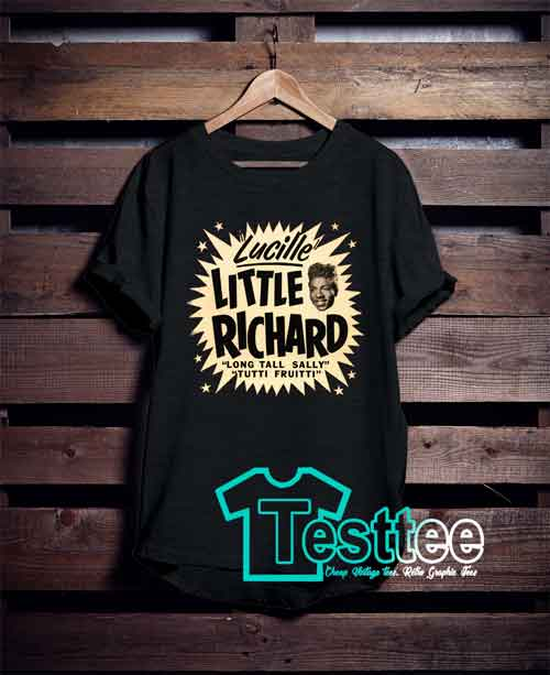 Cheap Vintage Tees Little Richard