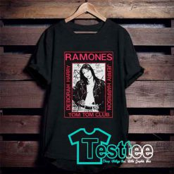 Ramones Tom Tom Club T shirt