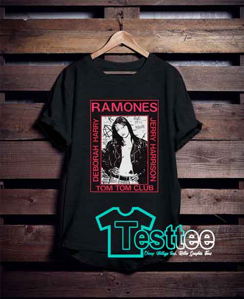 Ramones Tom Tom Club T shirt