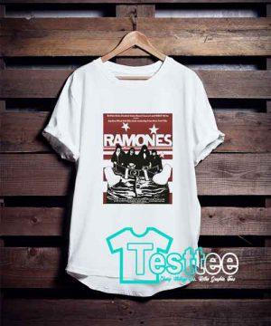 Ramones Tour T shirt