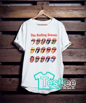 The Rolling Stones Logo T shirt
