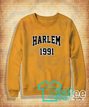 Cheap Vintage Sweatshirt Harlem 1991