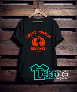 Cheap Vintage Tees Great Pumpkin Believer