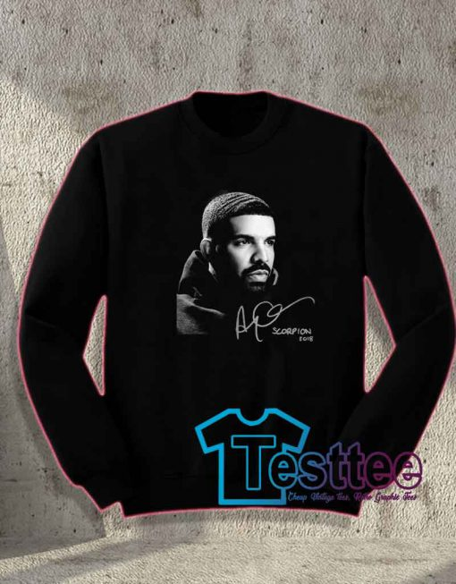 Cheap Vintage Drake Scorpion Album Sweatshirt