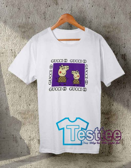 Cheap Vintage Tees Mommy Peppa Pig GC