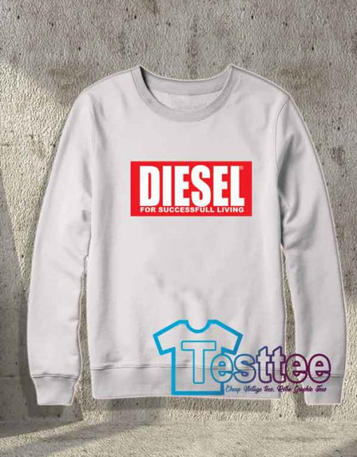 Cheap Vintage Diesel For Successfull Living Sweatshirt