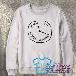 Cheap Vintage Time To Respek Wahmen Sweatshirt