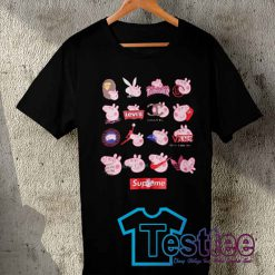 Cheap Vintage Tees All Brand Peppa Pig