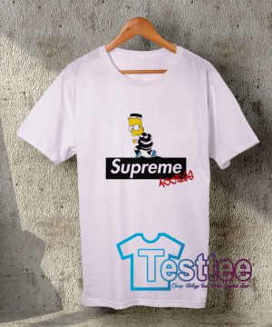 Cheap Vintage Tees Supreme X Bart Access