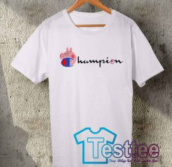 Cheap Vintage Tees Peppa Pig X Champion Collabs
