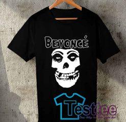 Cheap Vintage Tees Beyonce Skull