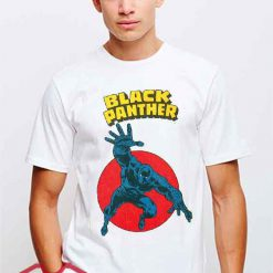 Cheap Vintage Black Panther Logo Tees