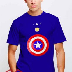 Cheap Vintage Captain America Logo Tees