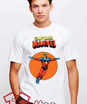 Cheap Vintage Captain Marvels Tees