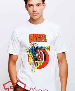 Cheap Vintage Ghost Rider Tees