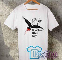 Cheap Vintage Tees Pink Floyd Goodby Blue Sky