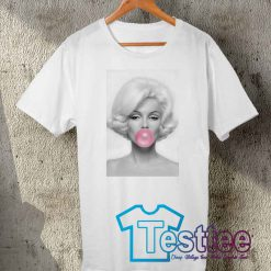 Cheap Vintage Tees Marilyn Monroe Bubble Gum