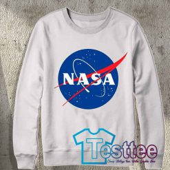 Cheap Vintage Nasa Logo Sweatshirt