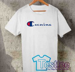 Cheap Vintage Tees Cocaine