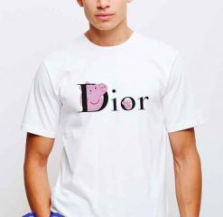 Cheap Vintage Tees Peppa Pig X Dior Collabs Parody