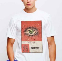 Cheap Vintage Gucci Amour Logo Tees