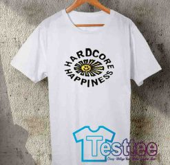 Cheap Vintage Tees Hardcore Happiness