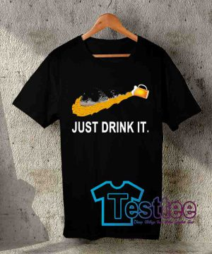 Cheap Vintage Tees Just Drink It