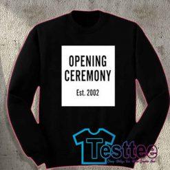 Cheap Vintage Opening Ceremony Est 2002 Sweatshirt