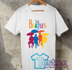 Cheap Vintage The Beatles Colorful Tees