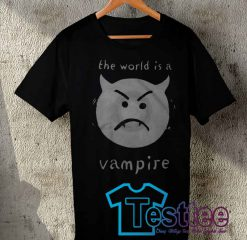 Cheap Vintage Tees The World Is a Vampire