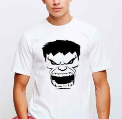 Cheap Vintage Hulk Face Tees
