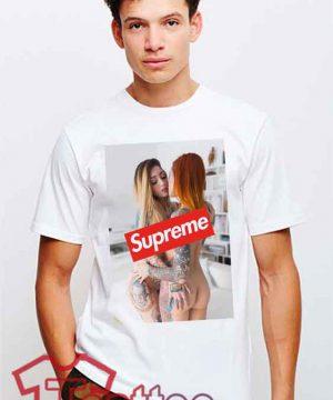 Cheap Supreme X Sexy Girls Tees