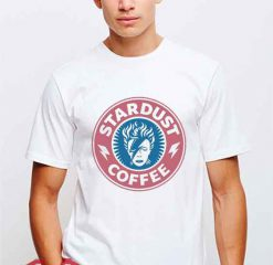 Cheap Vintage Stardust Coffee David Bowie Tees