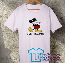 Cheap Vintage Tees Supreme X Mickey Mouse